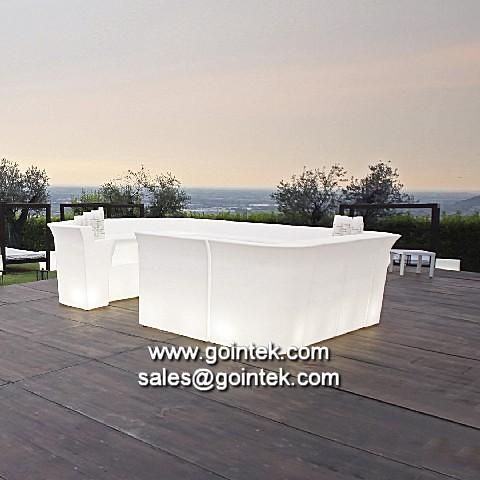 Iluminado muebles led para el vino comerciales barras de b for Muebles para vinos