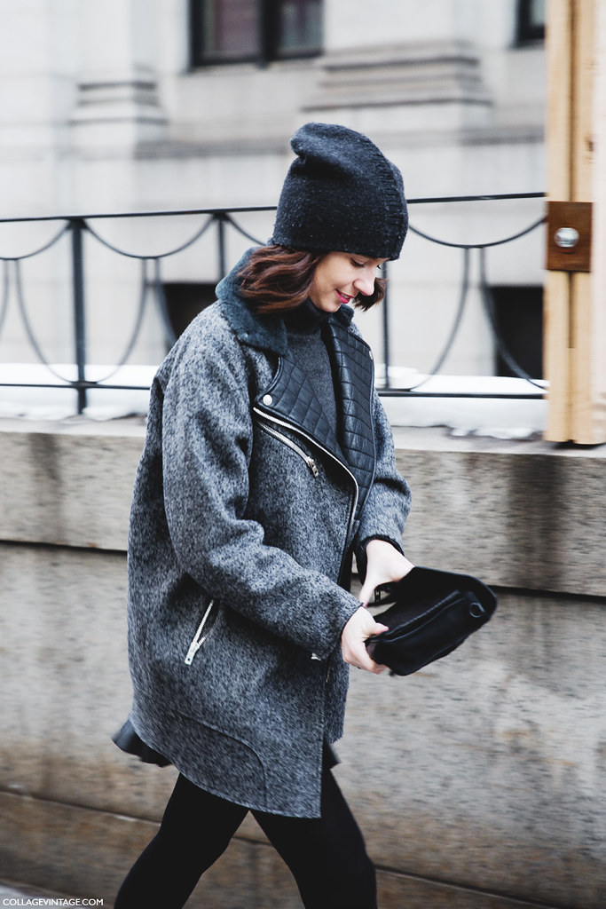 New york fashion week street style fall winter 2015 stripe flickr Street style ny fashion week fall 2015
