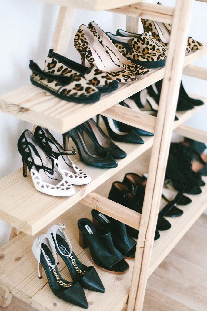 White Shoe Storage Boxes