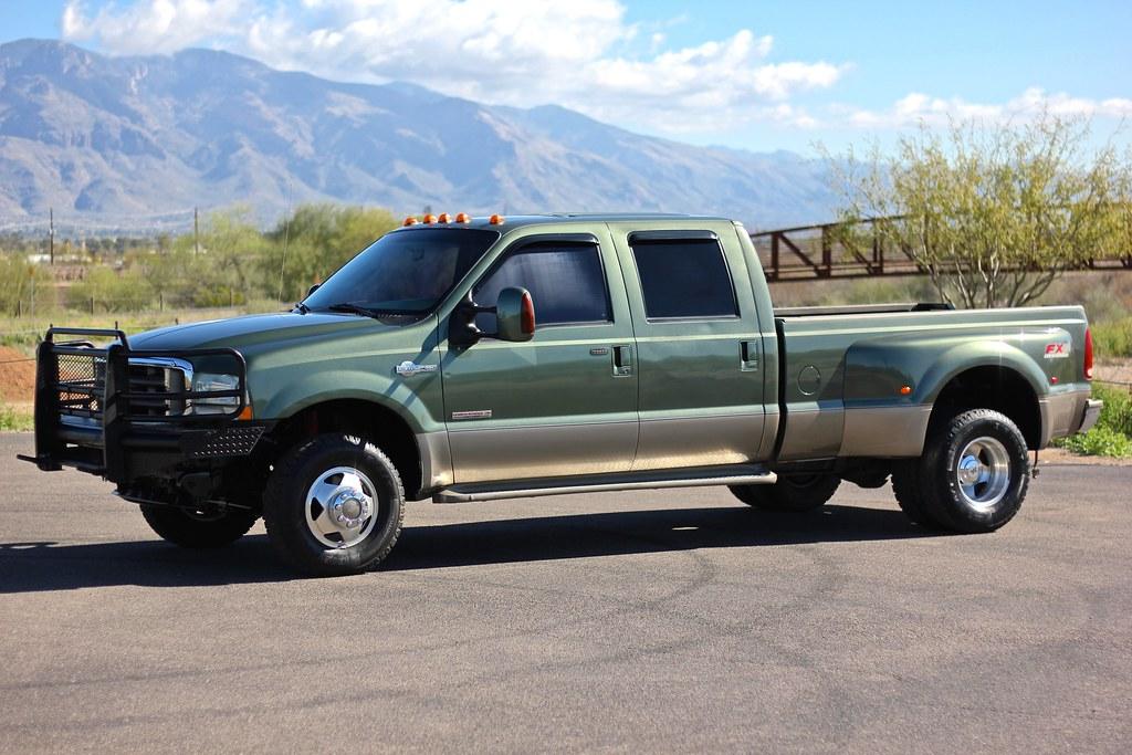 2004 ford f350 king ranch 4x4 diesel truck for sale. Black Bedroom Furniture Sets. Home Design Ideas
