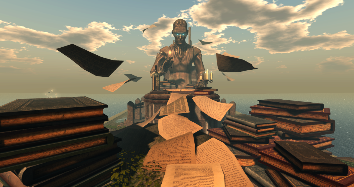 SL13B: The Story Teller, one of the stages at the event
