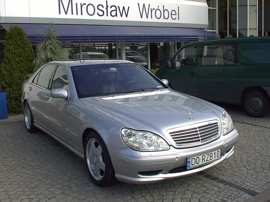 Mercedes benz s600 amg w2201 personalized series 2000 for Mercedes benz s 600 amg