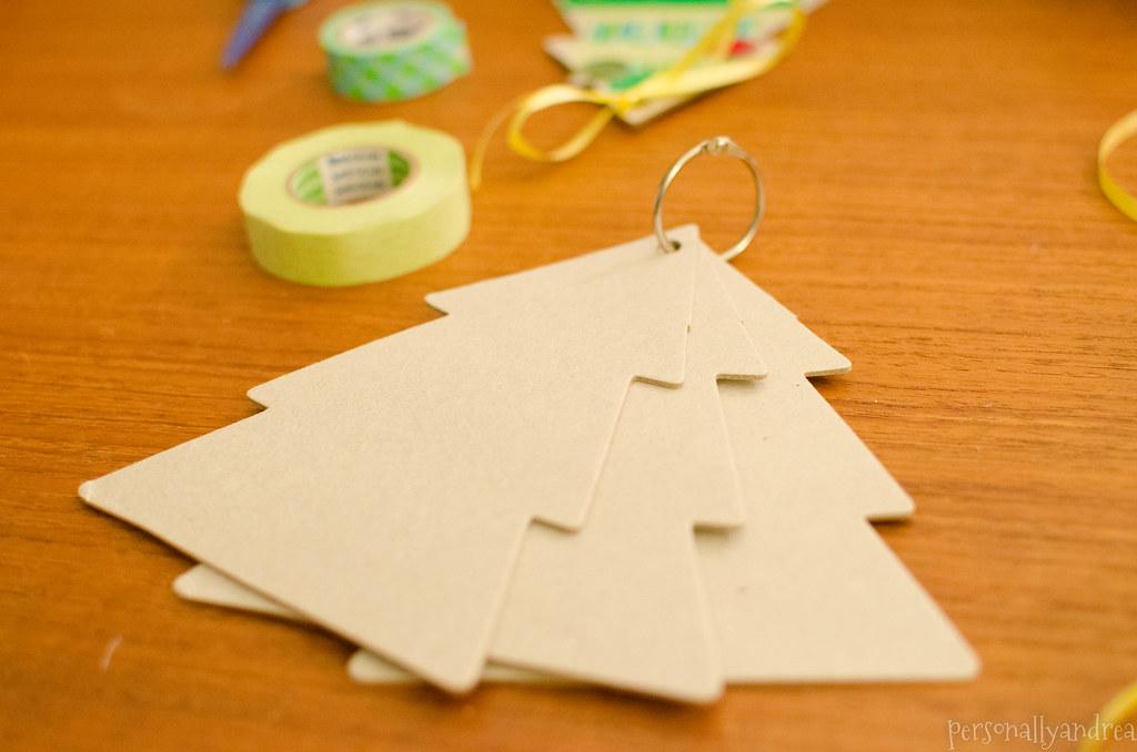 x5 Origami Christmas Tree Gift Tags - Folksy | 678x1024