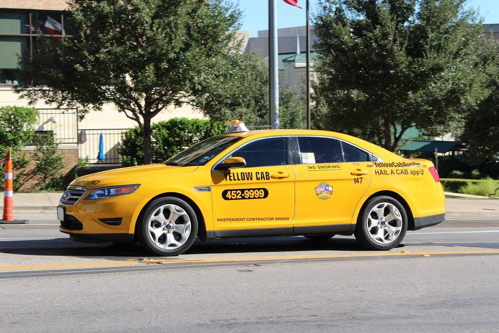 Cabs In Austin >> Taurus Taxi | Yellow Cab in Austin, Texas. | So Cal Metro | Flickr