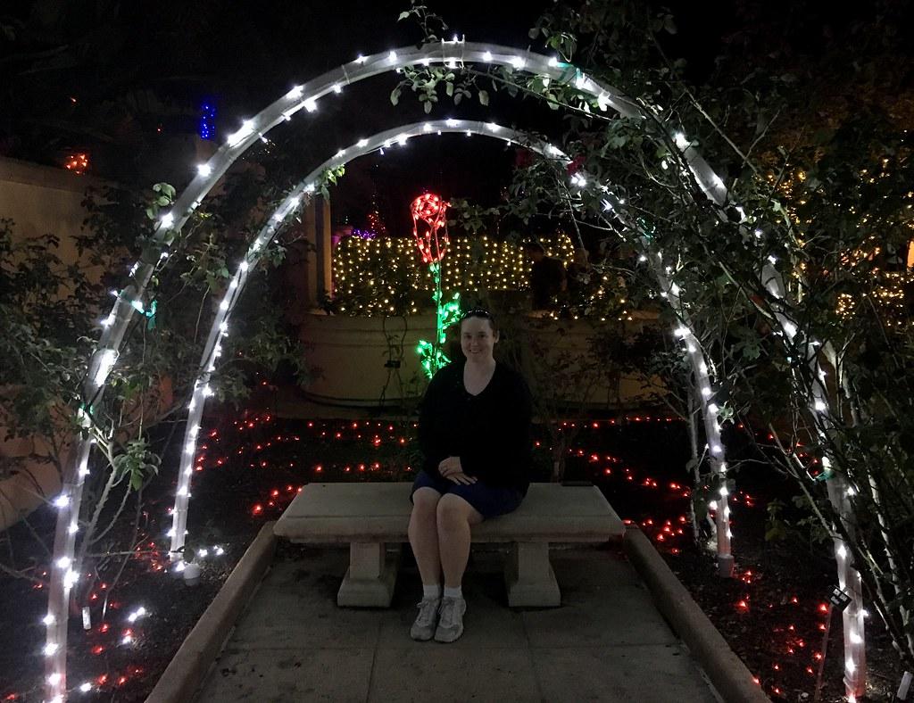 Largo Florida Botanical Gardens Holiday Lights In The