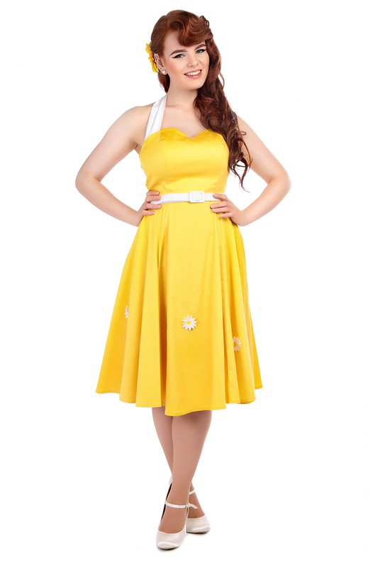 collectif daisy dress