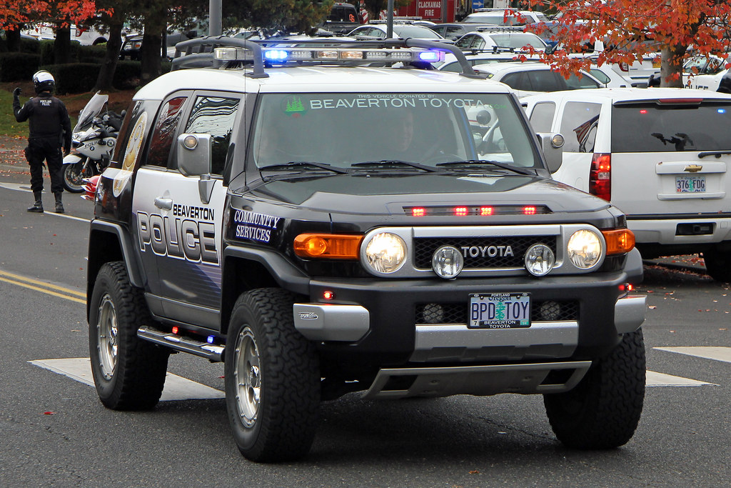 Beaverton Police Toyota Fj Cruiser 169 2013 Paul Carter