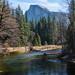 A weekend in Yosemite: Half Dome from Sentinel Bridge