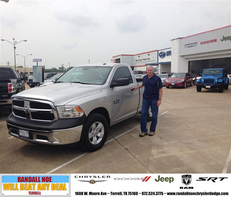 Randall Noe Dodge >> Congratulations to Steve Hudson on your #Ram #1500 purchas ...