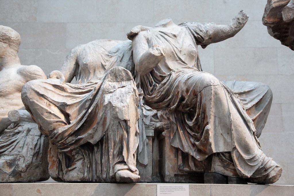 Frontone del partenone al british museum pausania - Immagini del cardellino orientale ...