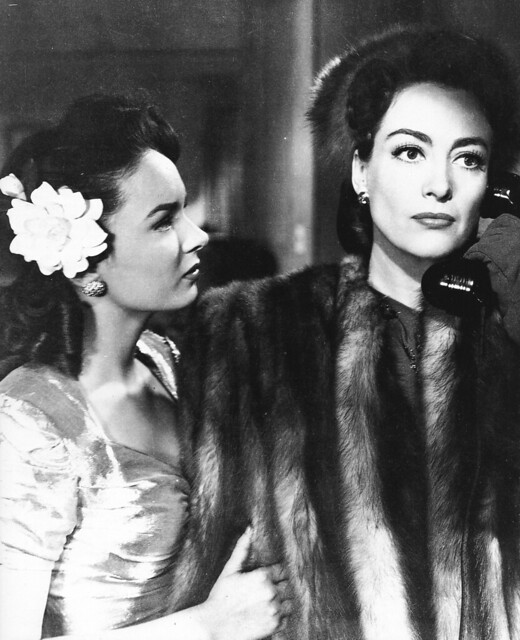 "Ann Blyth and Joan Crawford in ""Mildred Pierce"" (1945)"