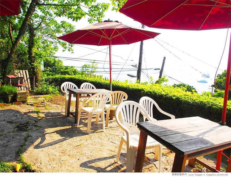【高雄 Kaohsiung】海山咖啡 柴山後花園戶外咖啡  眺望西子灣的海景午後 @薇樂莉 ♥ Love Viaggio 微旅行