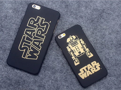 Star Wars Star Wars iPhone scrubs hard shell
