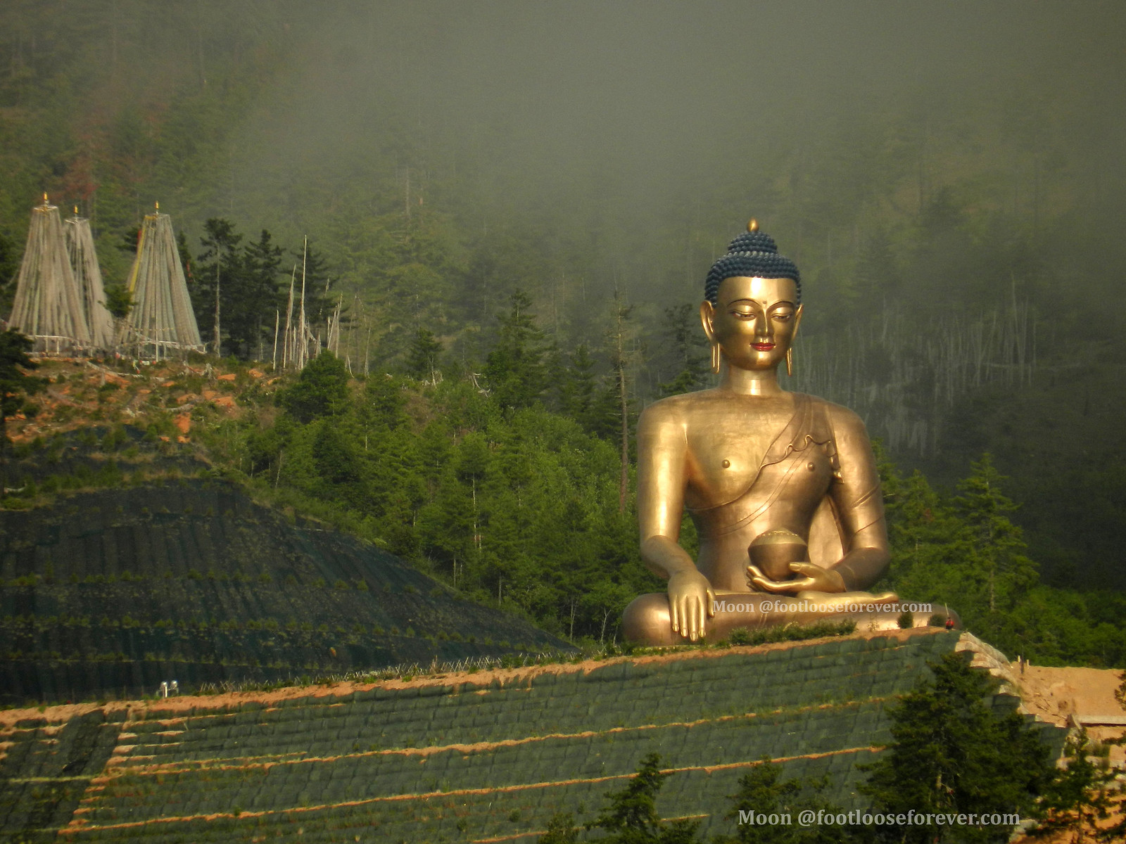 buddha, dordenma, thimphu, bhutan