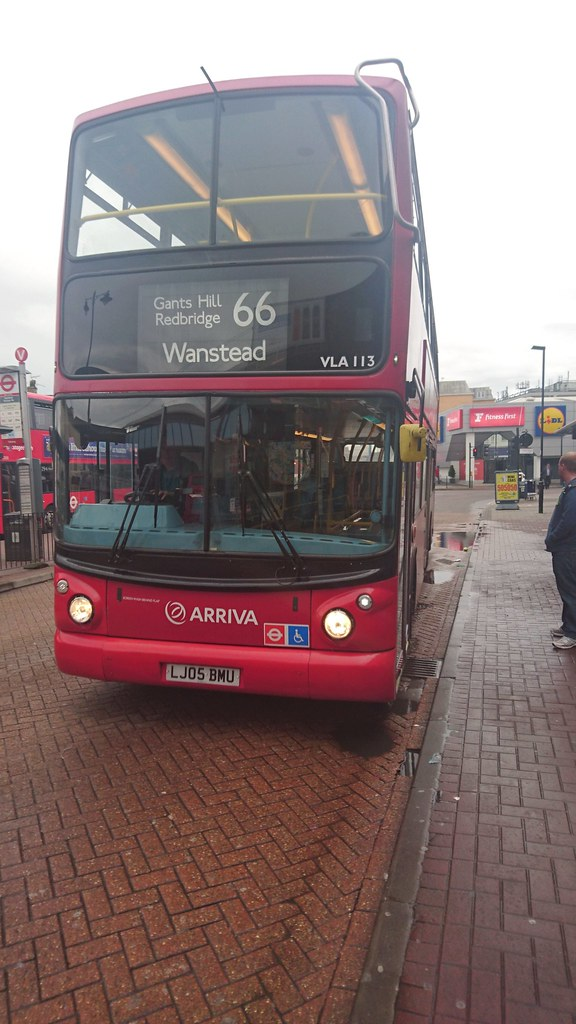 Turned Arriva London Vla113 Lj05bmu 66 Romford St