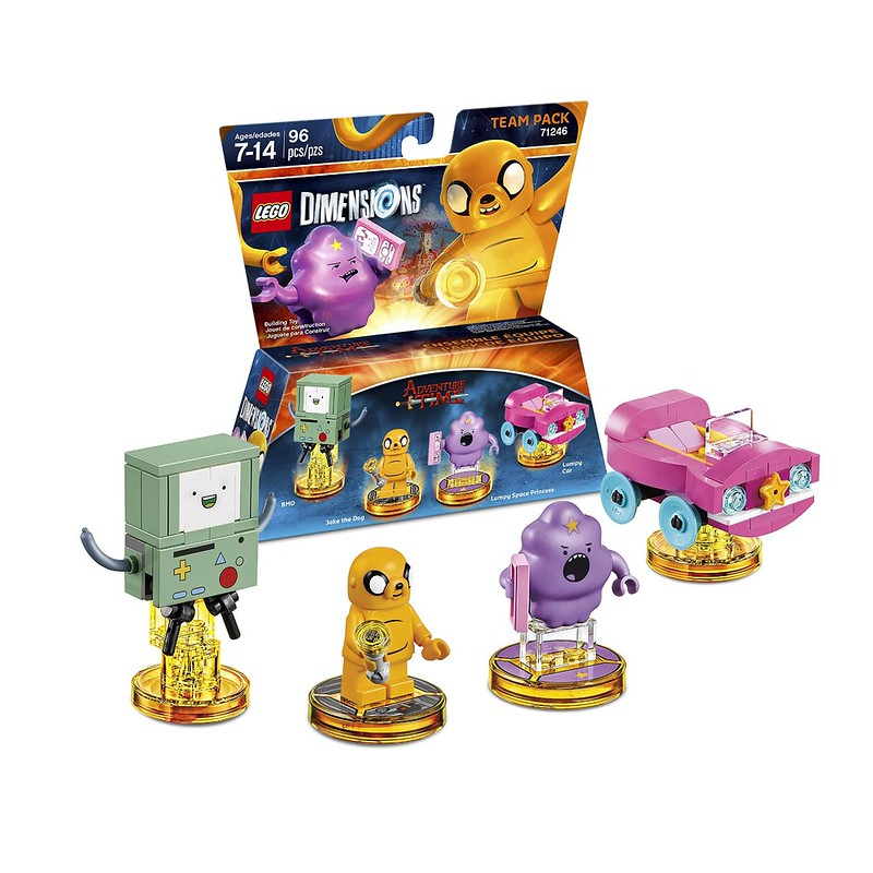 LEGO Dimensions 2016: 71246 - Adventure Time Team Pack
