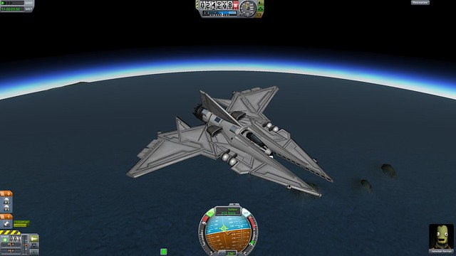 kerbal space program how to fly straight up