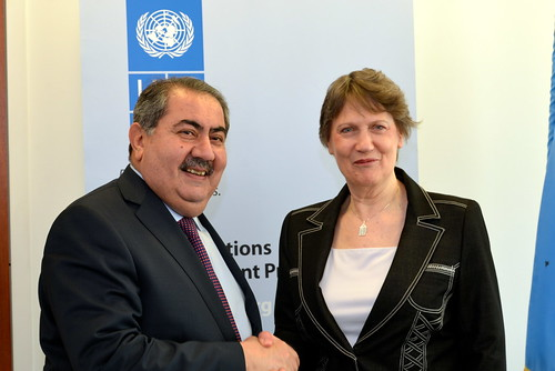 Meeting with Foreign Minister of Iraq, Hoshyar Zebari | by United Nations Development Programme