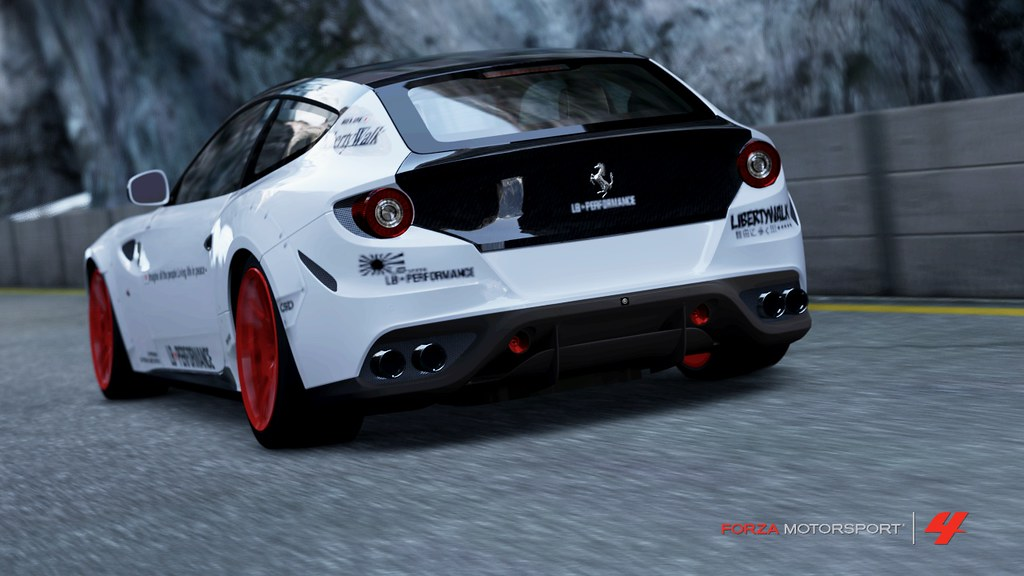 Ferrari Ff Wip Wip Still In The Works New Liberty Walk