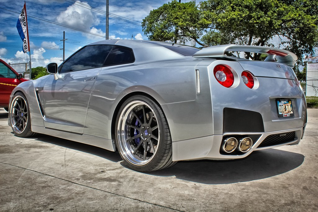 2009 Nissan Gtr Cor Cipher 21 Quot Lowered Swift Springs Flickr