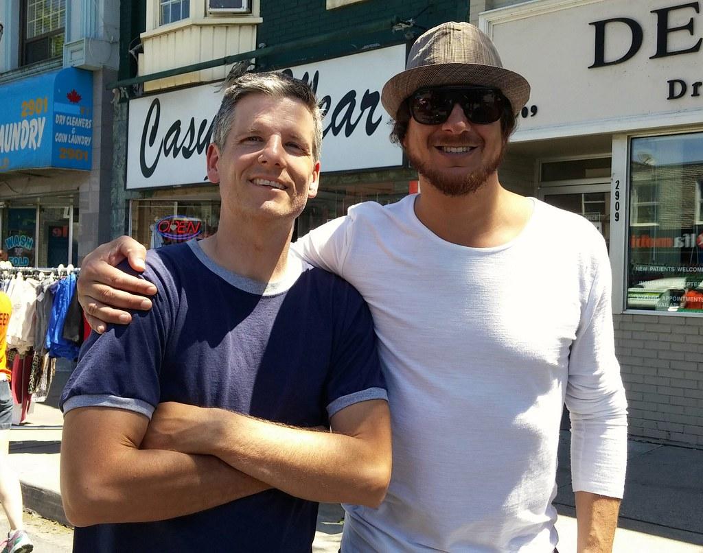 Todd Shapiro and me