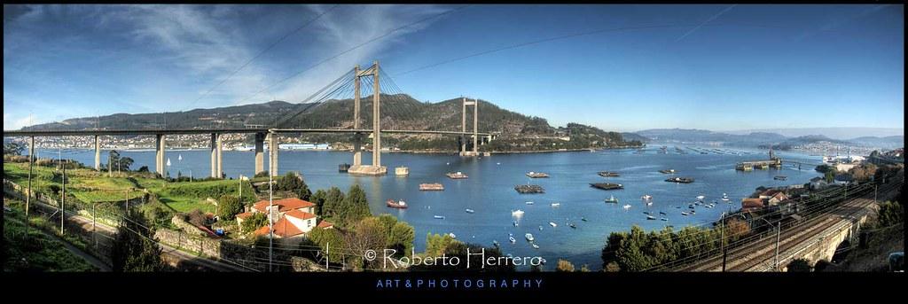 Ria de vigo getty images puente de rande sobre la ria - Roberto herrero ...