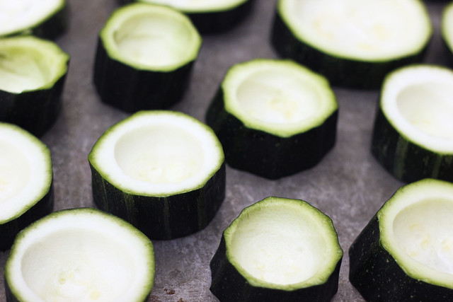 Quinoa Stuffed Zucchini Bites - Gluten-free + Vegan