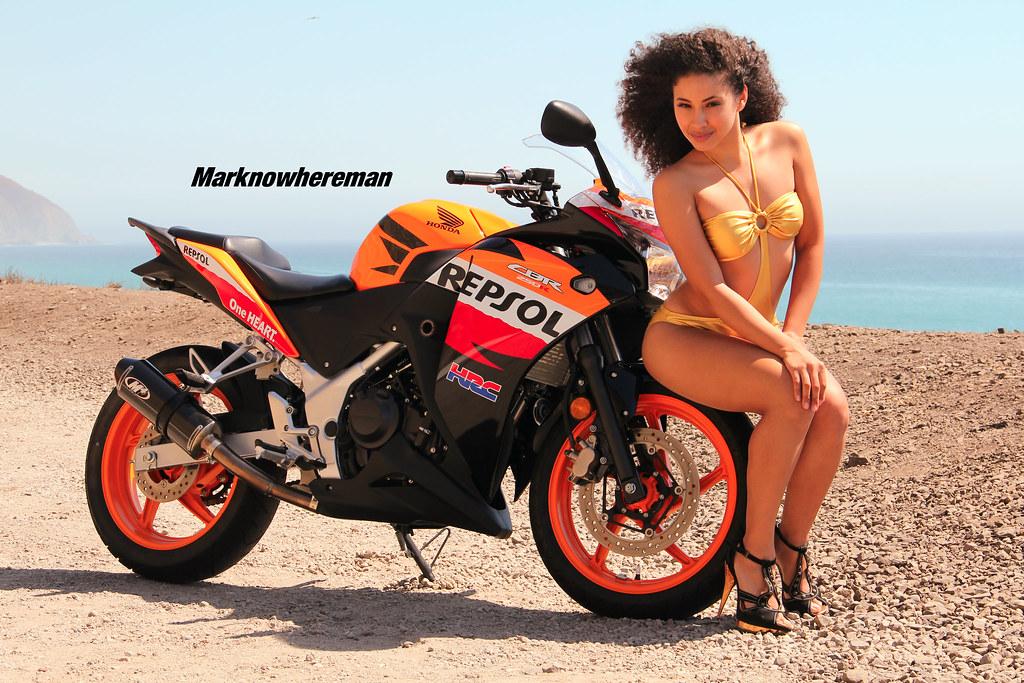 Honda Repsol and the Sexy Girl | A Dominican Republic ...