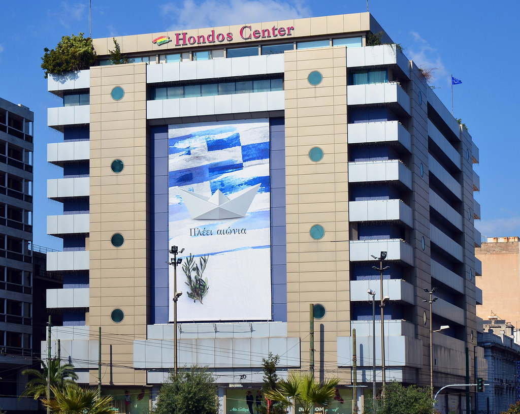 Credit Report Com >> Hondos Center / Athens | Modern style 11-floor department ...