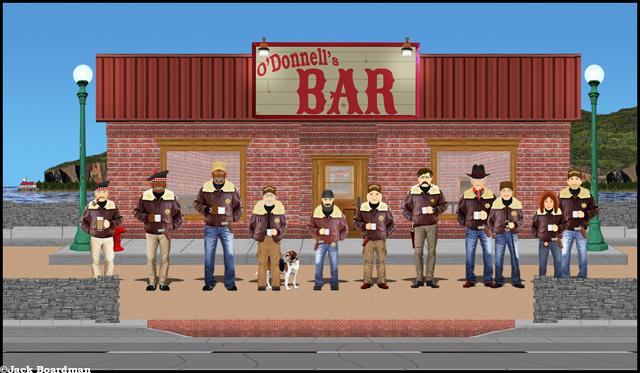 Outside O'Donnell's ©Jack Boardman