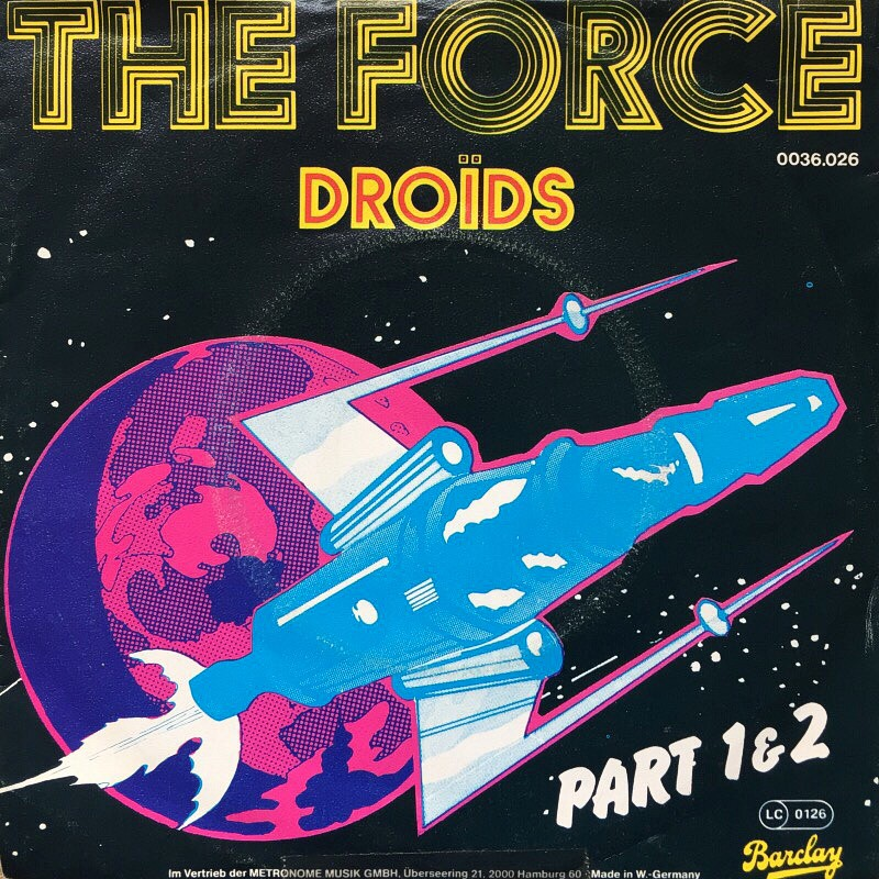 The force fonts from the flea market 1020 buro for Buro destruct