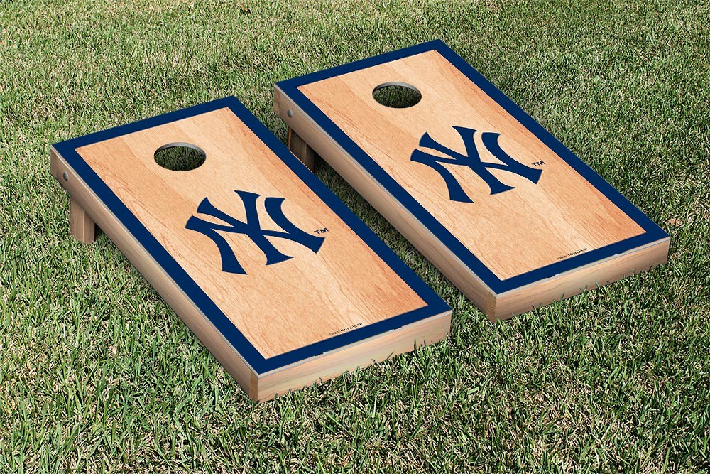 New York Yankees Hardcourt Version Cornhole Board