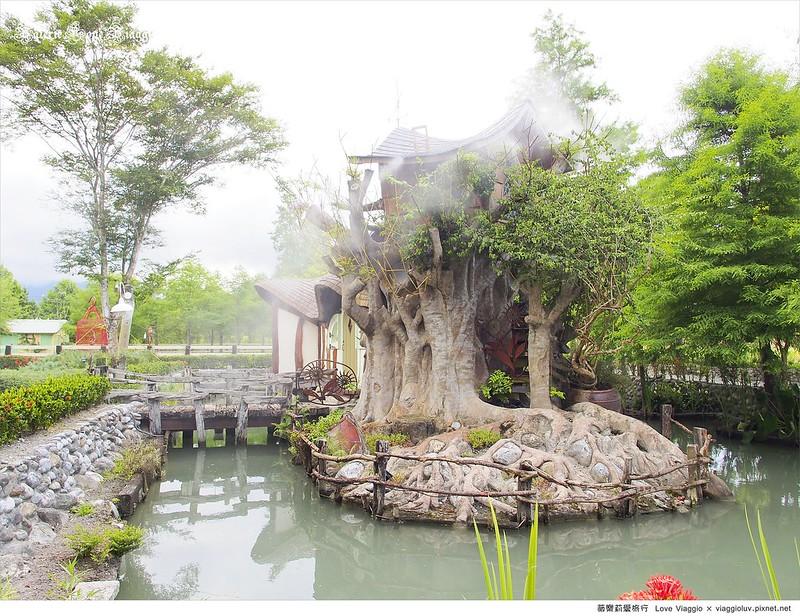 雪雲城堡民宿  早晨從城堡甦醒  走進童話中的世界