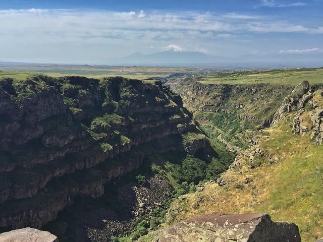 Cañón del Kasagh en Armenia