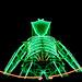 The Man Up Close Burning Man 2013