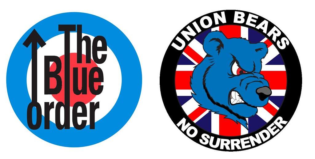 the blue order tbo 2002 . Rangers Ultras . union bears ub0