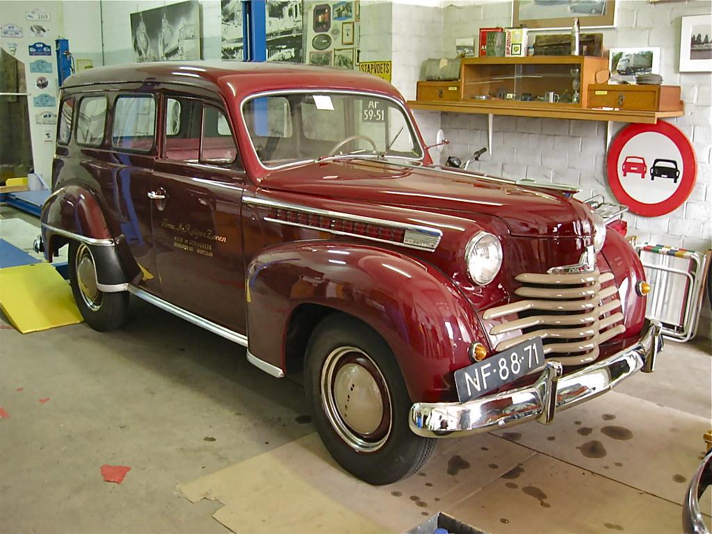 Nf 88 71 Opel Olympia Lieferwagen 1952 Well Preserved