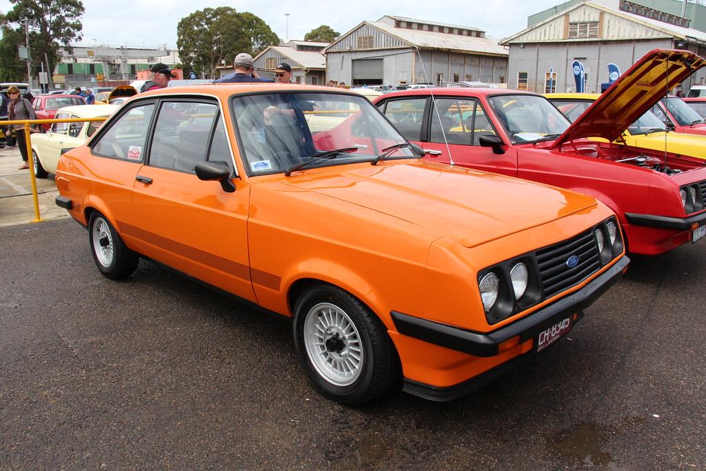 1979 Ford Escort Mk Ii Rs2000 2 Door Burnt Orange The