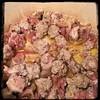 #Cavatelli #Rapini #GroundPork #Homemade #CucinaDelloZio - toss in the pork (rough meatballs)