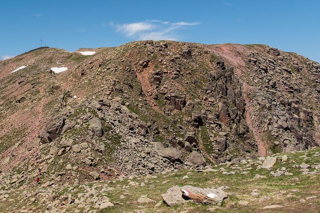 Blick vom Zwölfernock zum Villanderer Berg