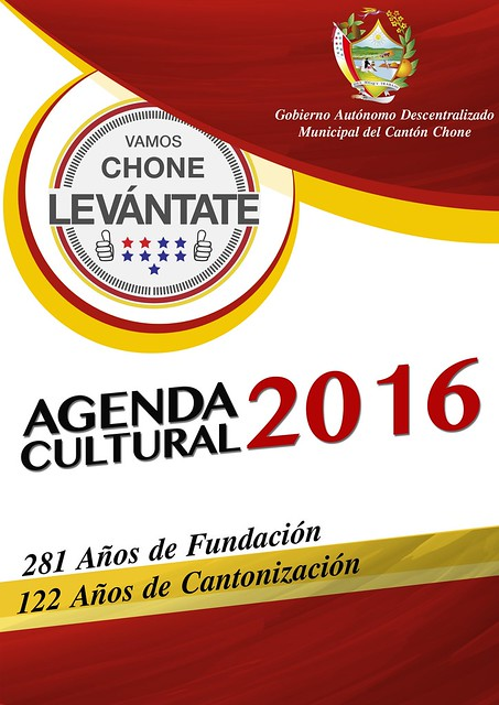 Agenda Cultural Chone 2016