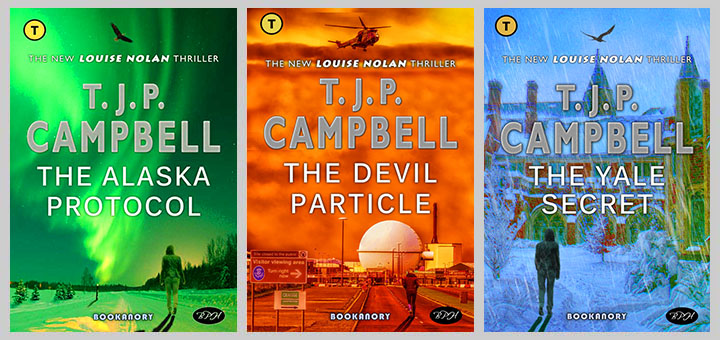 trio of Louise Nolan Thriller Novels