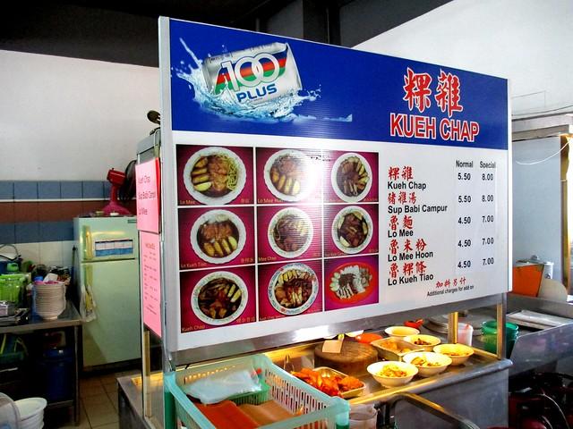 Chopticks kueh chap stall