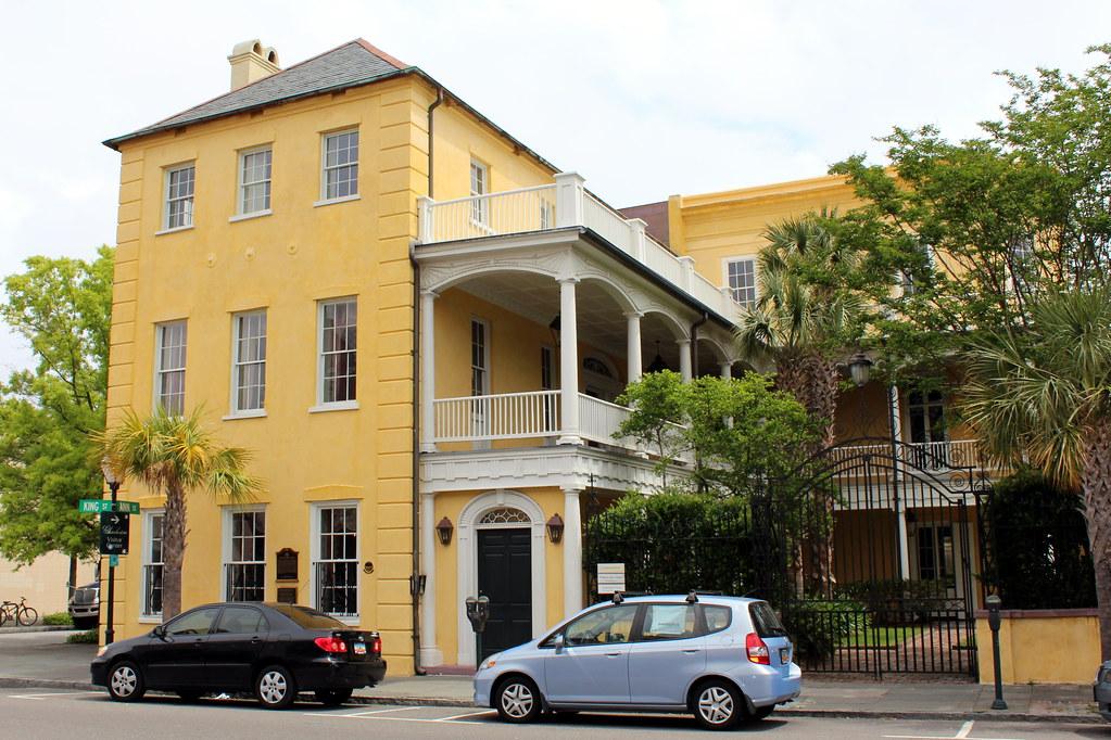 Charleston wraggborough william aiken house the for Aiken house