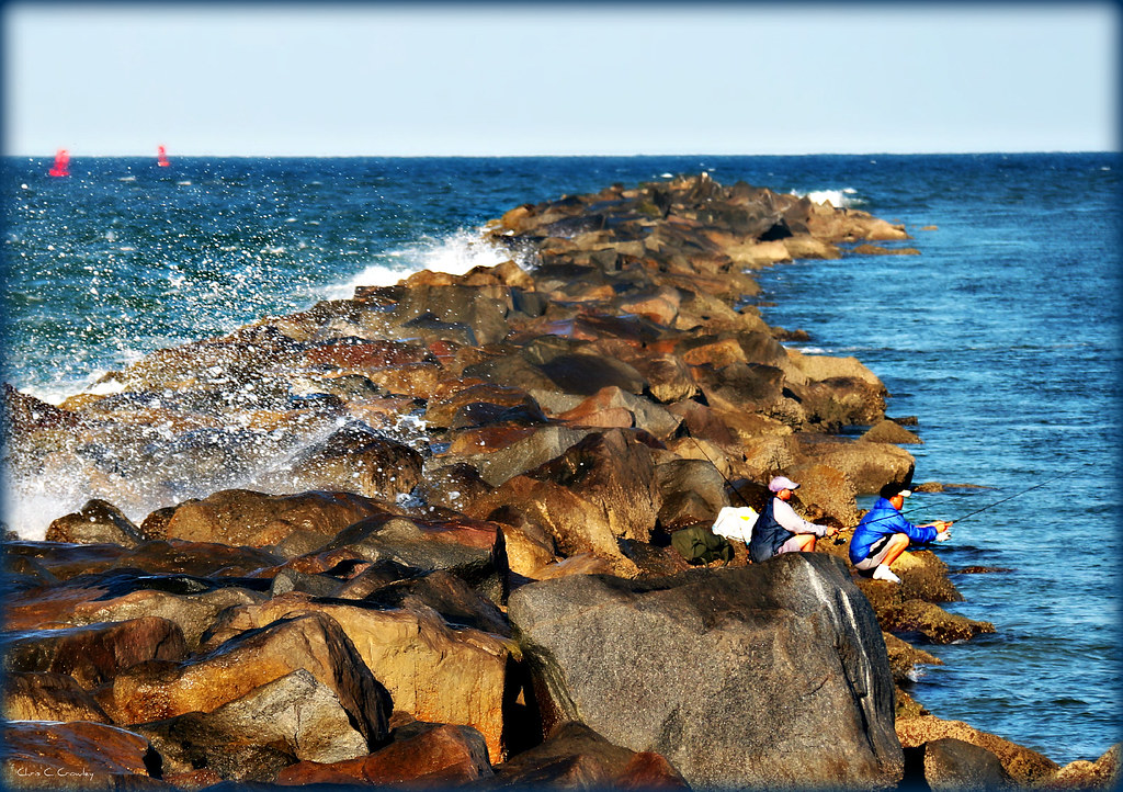 Fishing on the jetty the jetty at ponce inlet can be for Ponce inlet fishing