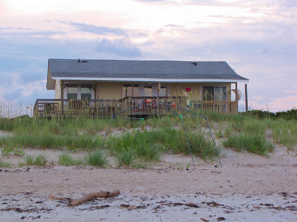Beach Bungalow   Caswell Beach still has some humble and ...