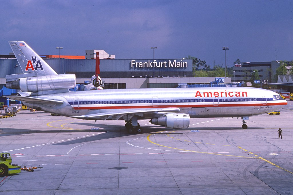American Airlines Dc 10 30 N138aa Fra June 1987 First