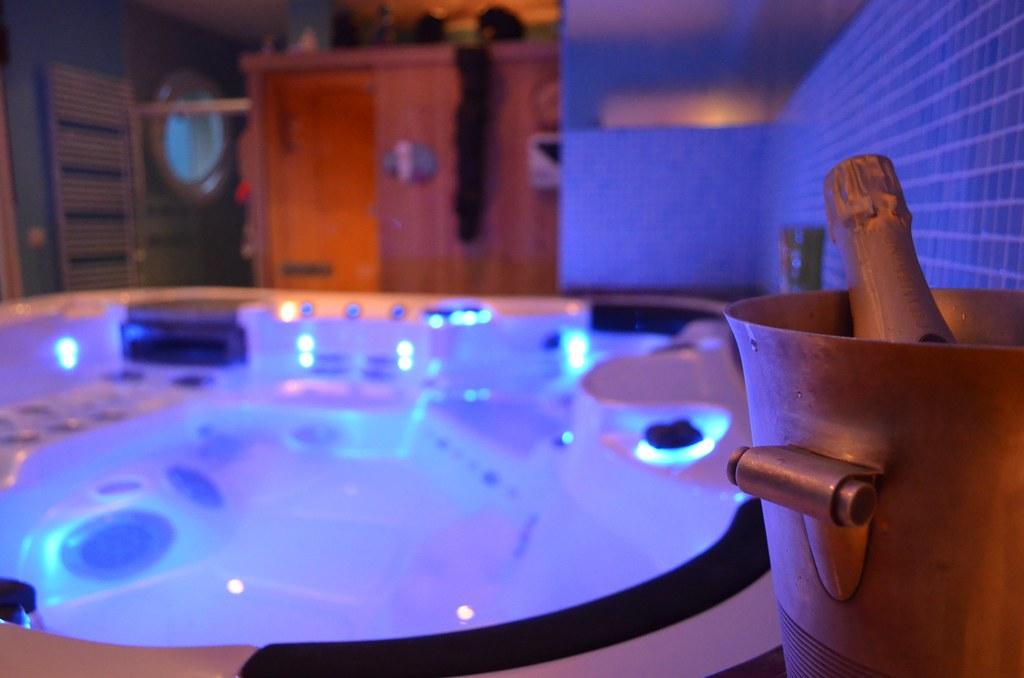 Spa sauna face la mer chambres d 39 h tes et g tes - Chambre d hote normandie vue sur mer ...