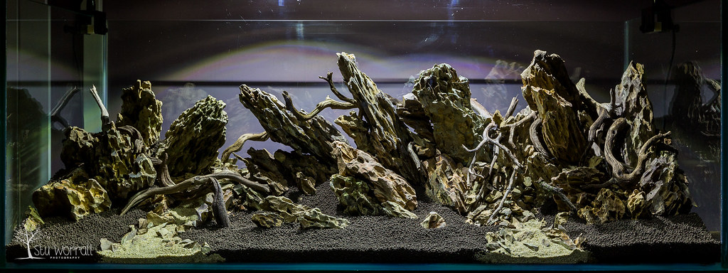 120x45x45cm Aquascape Final Hardscape Stu Worrall Flickr