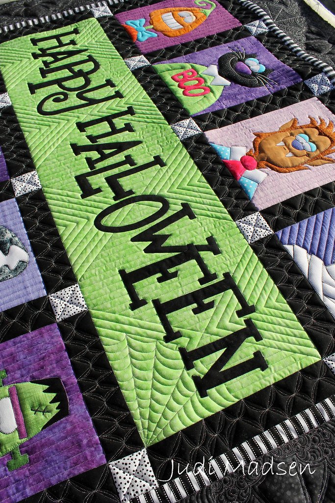 3 Amy Bradley S Happy Halloween Quilted By Judi Madsen